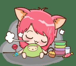 Kawaii Neko sticker #1495158