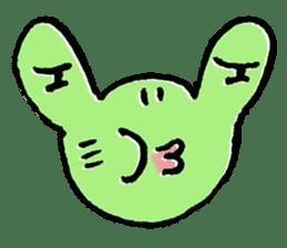 Frosuke and friends sticker #1496762