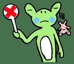Frosuke and friends sticker #1496779