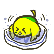 Relaxed parakeet sticker #1498530