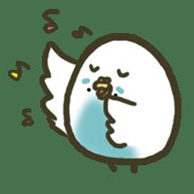 Relaxed parakeet sticker #1498531