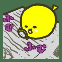 Relaxed parakeet sticker #1498549