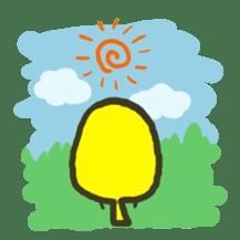 Relaxed parakeet sticker #1498555