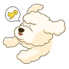 White Poodle (fixed)