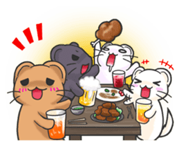 Friends of the Mink2 sticker #1502239