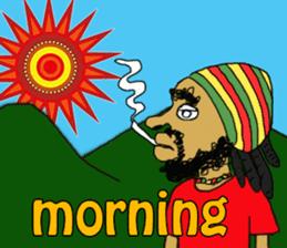 reggae's rastaman sticker #1503729