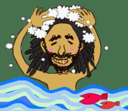 reggae's rastaman sticker #1503731