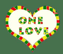 reggae's rastaman sticker #1503736