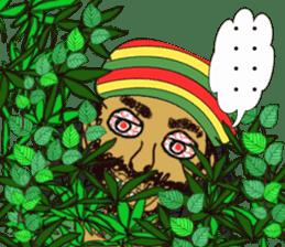 reggae's rastaman sticker #1503739