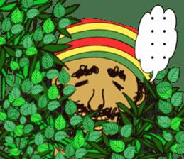 reggae's rastaman sticker #1503740