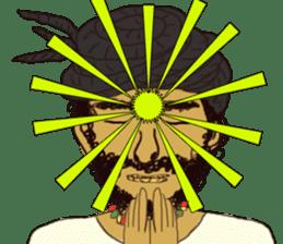 reggae's rastaman sticker #1503743