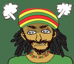 reggae's rastaman sticker #1503748