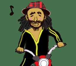 reggae's rastaman sticker #1503749