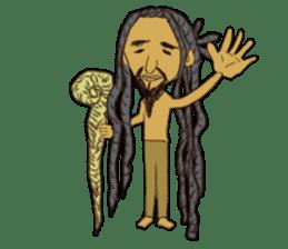 reggae's rastaman sticker #1503755