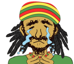 reggae's rastaman sticker #1503760