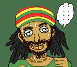 reggae's rastaman sticker #1503762