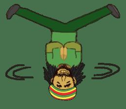 reggae's rastaman sticker #1503767