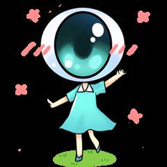 Big Eye Girl