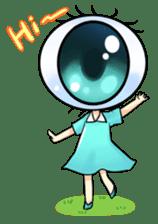 Big Eye Girl sticker #1505688