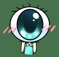 Big Eye Girl sticker #1505691