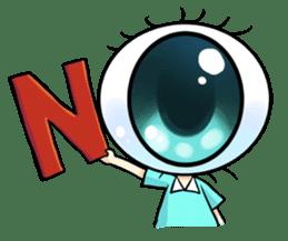 Big Eye Girl sticker #1505692