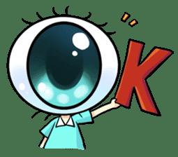 Big Eye Girl sticker #1505693