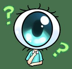 Big Eye Girl sticker #1505694