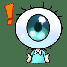 Big Eye Girl sticker #1505695