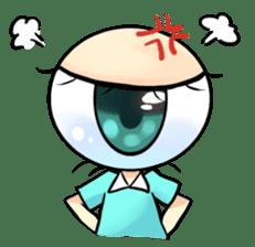 Big Eye Girl sticker #1505696
