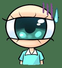 Big Eye Girl sticker #1505698