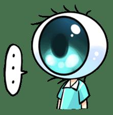 Big Eye Girl sticker #1505699