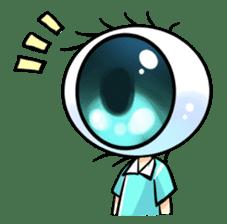 Big Eye Girl sticker #1505700