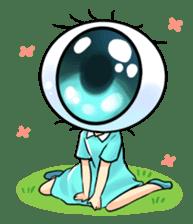 Big Eye Girl sticker #1505701