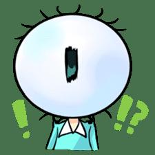Big Eye Girl sticker #1505704