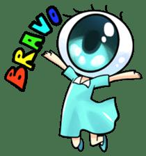 Big Eye Girl sticker #1505706