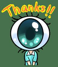 Big Eye Girl sticker #1505708