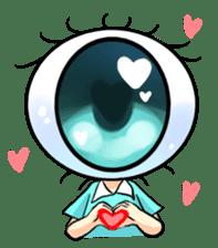 Big Eye Girl sticker #1505709