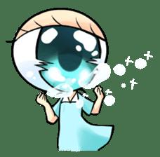 Big Eye Girl sticker #1505711