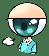 Big Eye Girl sticker #1505715