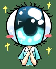 Big Eye Girl sticker #1505717