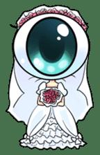 Big Eye Girl sticker #1505719