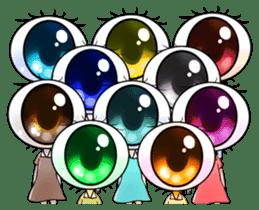 Big Eye Girl sticker #1505724