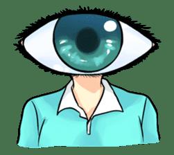 Big Eye Girl sticker #1505727