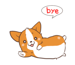 Sticker of Corgi 2 sticker #1505969