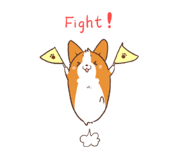 Sticker of Corgi 2 sticker #1505972