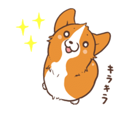 Sticker of Corgi 2 sticker #1505975