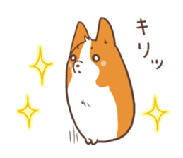 Sticker of Corgi 2 sticker #1506005