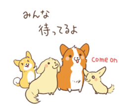Sticker of Corgi 2 sticker #1506007