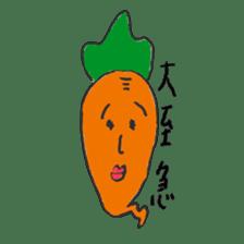 strawberry boy & his vegetables sticker #1506529