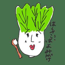 strawberry boy & his vegetables sticker #1506530